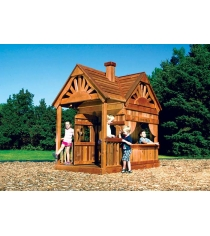 Деревянный домик Rainbow Play Systems Playhouse Design 2